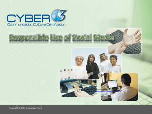 Responsible Use of Social Media-lesson3 - ICT-IAT
