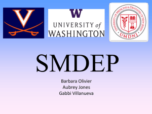 SMDEP - Health Professions Program
