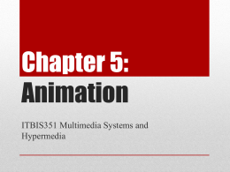 Chapter 5: Animation