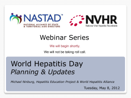 This is hepatitis… It`s closer than you think