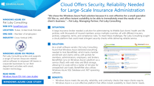 Windows Azure ISV Mini Case Study