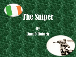Introductory Powerpoint for The Sniper (short story)