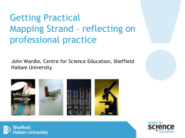 John Wardle - Getting Practical