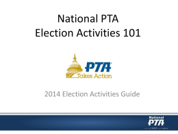 PTA Election Guide 101