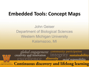 Embedded Tools - the Biology Scholars Program Wiki