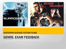 GENRE exam review
