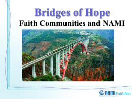 Bridges of Hope Faith Communities and NAMI