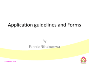 Application guidelines and forms 25.02.14