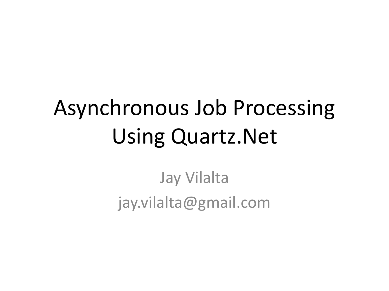 QuartzNet - austincodecamp09