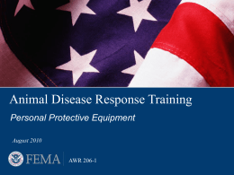 Animal Disease Response Training