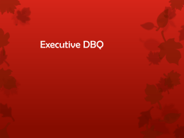 Executive DBQ - Lindbergh School District