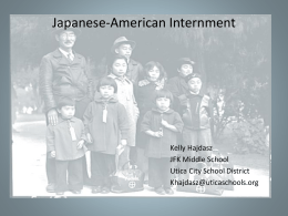 PowerPoint: Japanese-American Internment