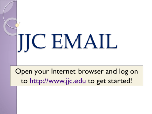 How to access your JJC email
