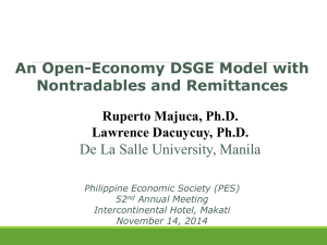 An Open-Economy DSGE Model with