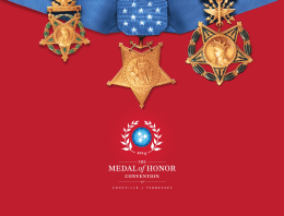 The Medal of Honor Convention