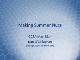 Link to Dan O`Callaghan`s Nuc slides from May 2014 Meeting