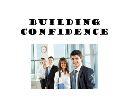 Building Confidence - Arlington Heights FFA