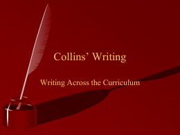 Collins` Writing