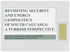 Turkey and the south caucasus
