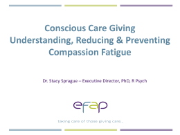 EFAP-Consicous-Care-Giving-Presentation-April-2012