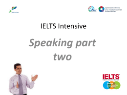 ielts speaking 2 - KBW