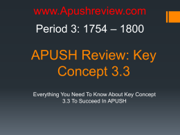 APUSH-Review-Key-Concept-3.3