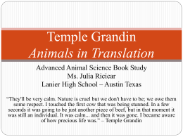 Advanced Animal Science