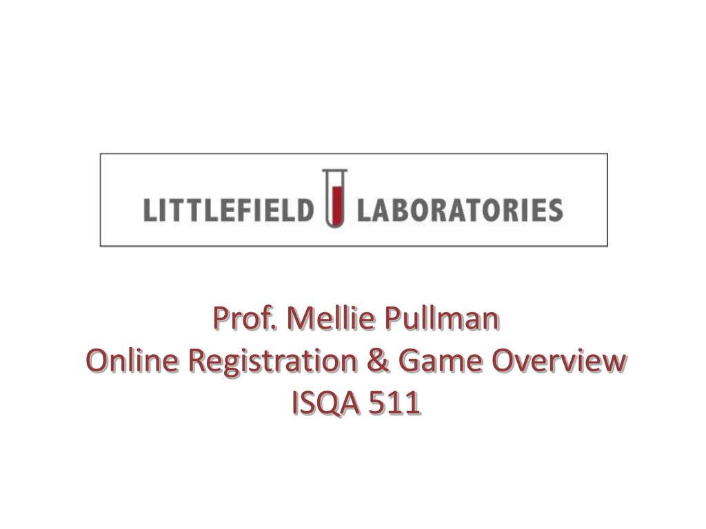 littlefield simulation analysis