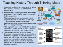 13) Teaching History Through Thinking Maps