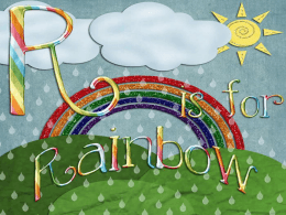Rainbows and Refraction Powerpoint