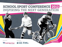 Ken Black - Youth Sport Trust