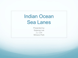 Indian Ocean Sea Lanes - D Period