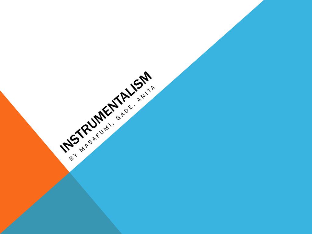 Instrumentalismi
