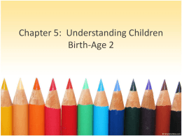 chapter 5 Understanding Children Birth