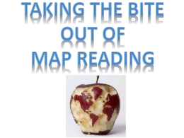 Map Reading Power Point Review