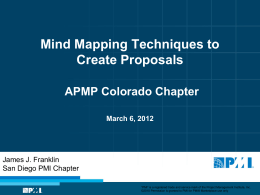 2012-03-06 Mind Mapping Techniques for Proposals