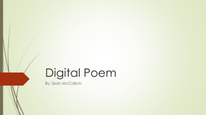 Digital Poem