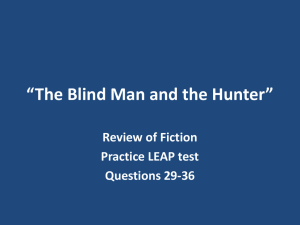 The Blind Man and the Hunter