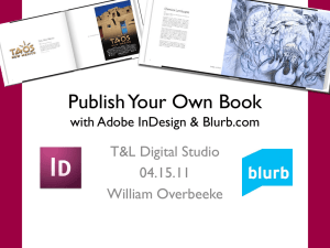 Publish Your Own Book with Adobe InDesign