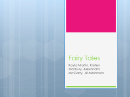 Fairy Tales - Children`s Literature