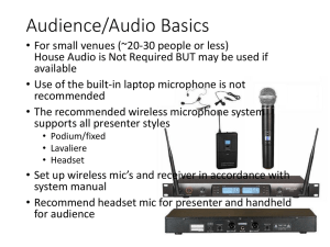 Audio Recording r1