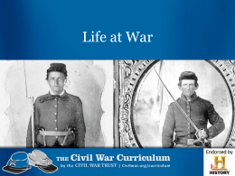 Life at War PPT