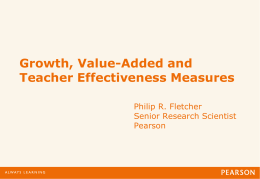 Teacher Effectiveness - National Network of State Teachers of the