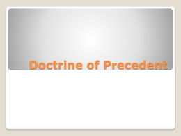 an analysis of the precedent doctrine in australian courts The legal doctrine of precedent is used when a court system decides a case based on a previous case with similar circumstances how does doctrine of precedent work a: originally, australian courts ruled that a learning driver is responsible for another person's injuries if the driver is.
