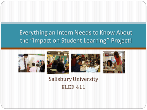 Everything you need to know about the Student Impact Study