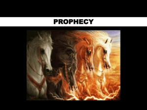 prophecy you are here