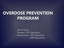 Overdose Prevention Program - Haliburton, Kawartha, Pine Ridge