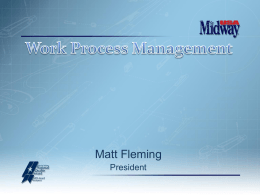 Work Process Management - America Needs Baldrige!