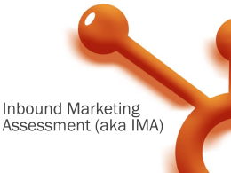 Inbound Marketing Assessment (IMA)