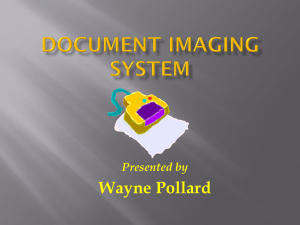 Document Imaging System